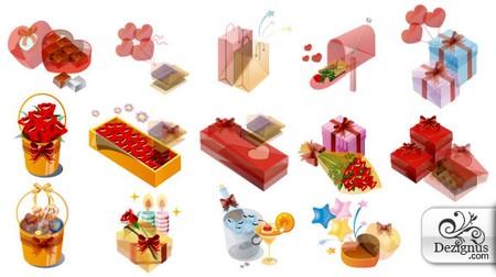 Dezignus Love Icons - Free Valentine's Day vectors collection