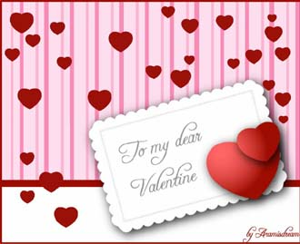 Valentine by Aramisdream on deviantART - Free Valentine's Day vectors collection