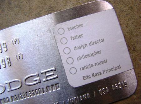 Eric Kass business card