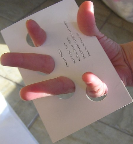 Manicurist cool business cards design