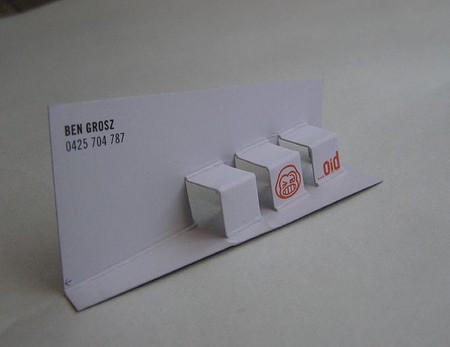 Ben Grosz business cards design