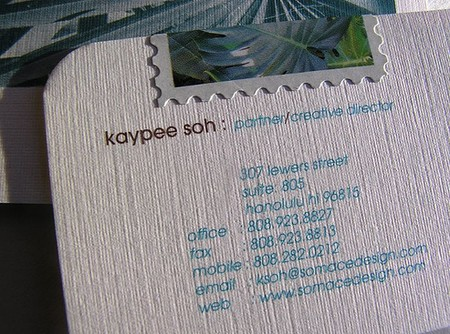 Kaypee Soh cool business cards design
