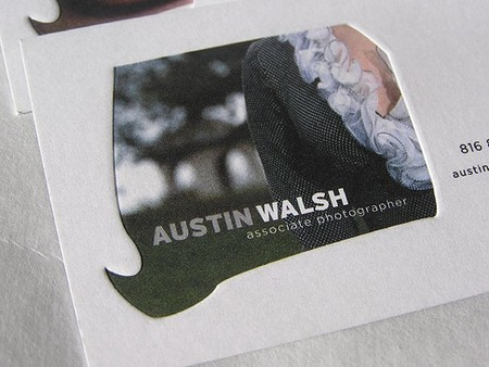 Austin Walsh business cards design