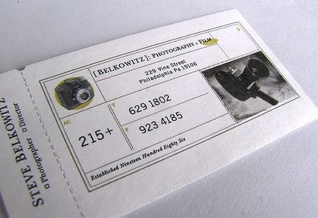 Steven Belkowitz business card design