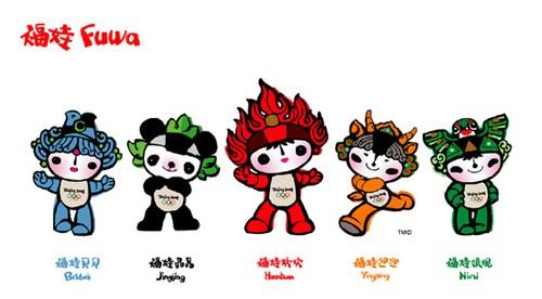 Beijing 2008 Olympics mascots