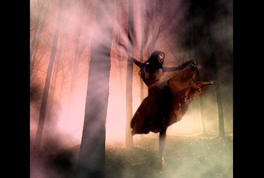 Dancing in The Dark Photo Effect