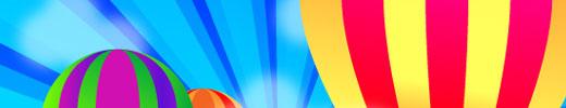 Create a Cool Air Balloon Wallpaper