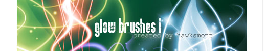 200+ Photoshop Brushes for Light, Sparkles, Glows and Glitter