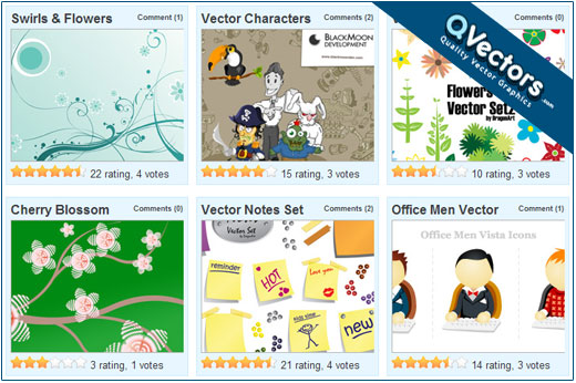 QVectors - Free Vectors for download
