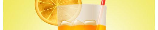 Create a Sweet Refreshing Orange Juice in Photoshop