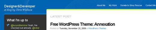Annexation: A Free WordPress Theme
