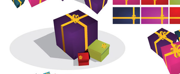 Christmas Gifts Vectors