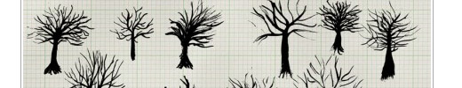 Free Vectors: Ink Trees