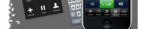 iPhone PSD Vector Kit
