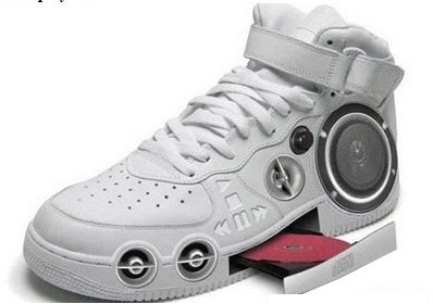 CD Player Shoes