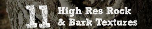 Freebie: 11 High Res Rock & Bark Textures