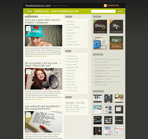 FREEmium Free WordPress Theme
