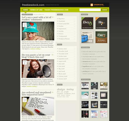 FREEmium Free WordPress Theme