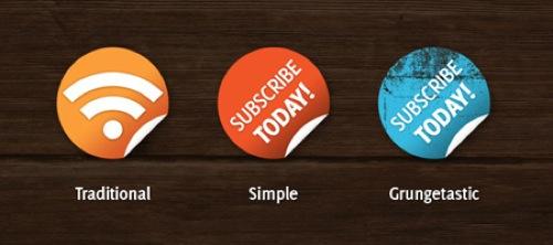 2000+ Free Web 2.0 High Quality RSS Icons