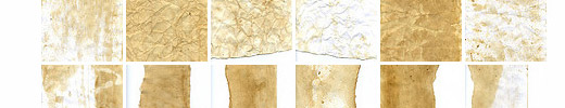 20 Free Original Hi-Res Grunge Stained Paper Textures