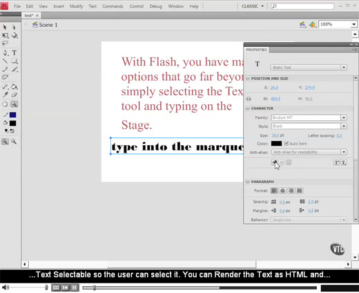 Adobe Flash CS4 Tutorial Videos
