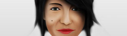 How to Draw a Female Portrait in Photoshop