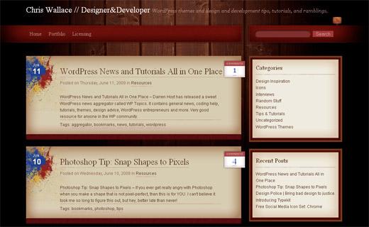 Absynthe Free WordPress Theme