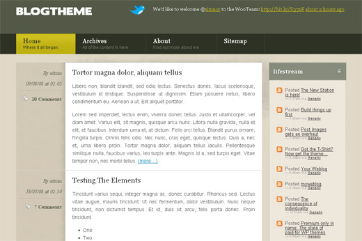 Blog Theme Free WordPress Theme