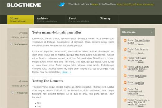 Blog Theme Free WordPress Theme