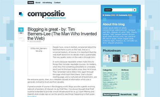 Compositio Free WordPress Theme