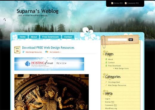 Dark Forest Free WordPress Theme