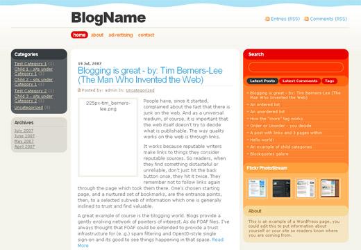 Farvens Free WordPress Theme