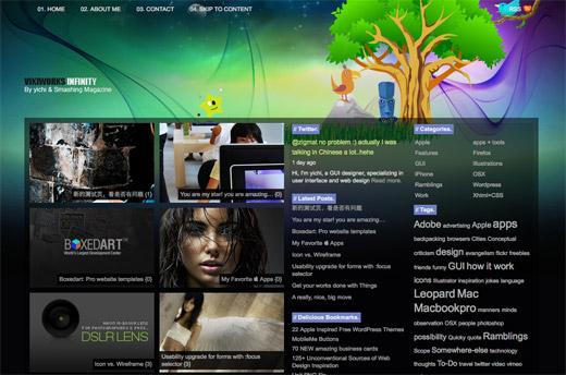 Infinity Free WordPress Theme