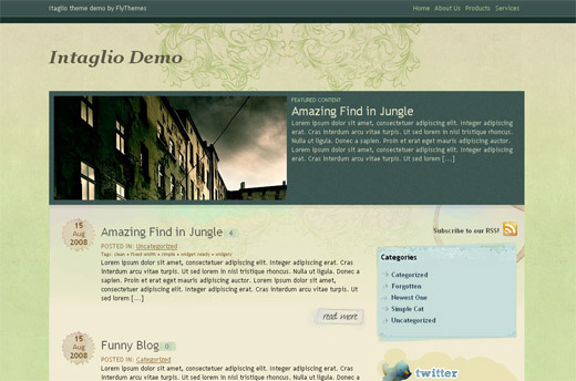 Intanglio Free WordPress Theme
