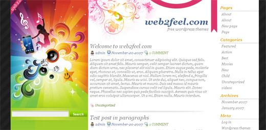 Ringtone Free WordPress Theme