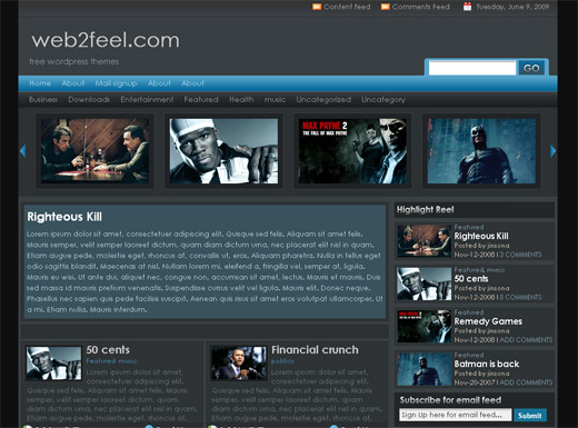 Zinmag Remedy Free WordPress Theme
