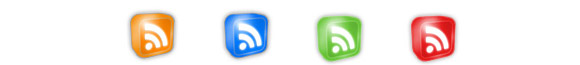 3D RSS Glowing Icons