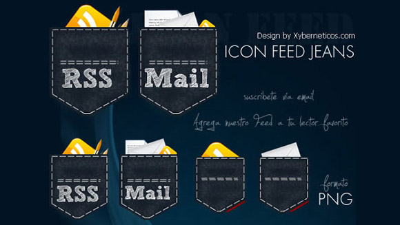 Blue Jeans RSS Icons