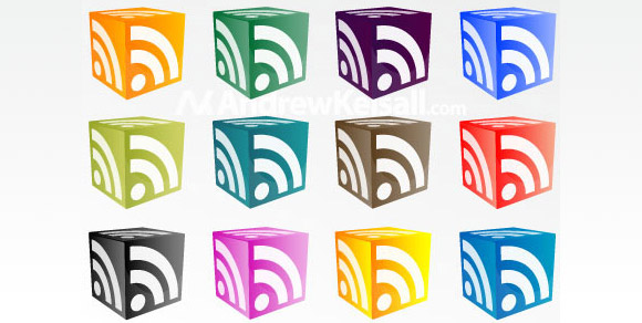 Cube RSS Icons