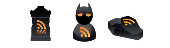Halloween RSS Icons
