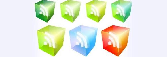 Translucent RSS Icons
