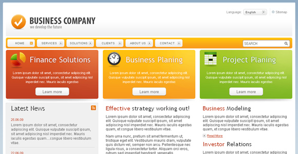 Free Corporate Template 1