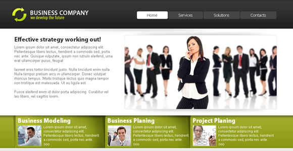 Free Corporate Template 2