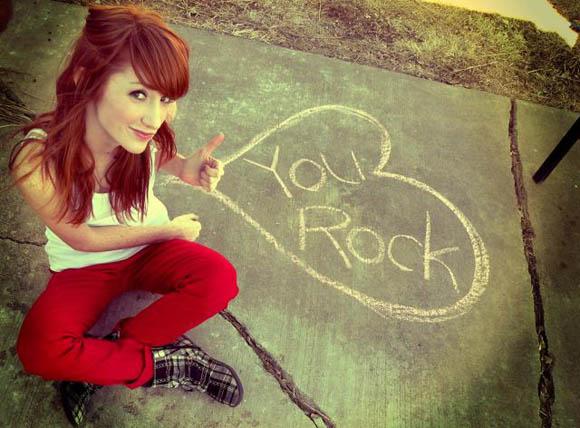You, my friend, ROCK