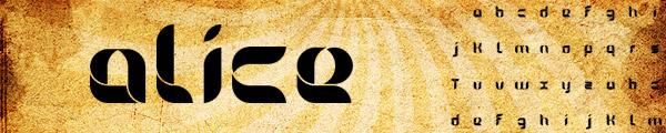 创意英文LOGO字体