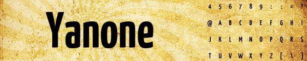 分享20款漂亮免费英文LOGO字体