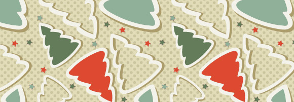 Free Christmas Seamless Vector Pattern