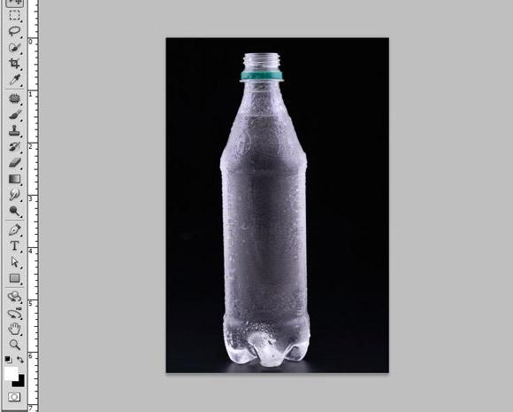 Bottle Ad Photoshop Tutorial - Step 2