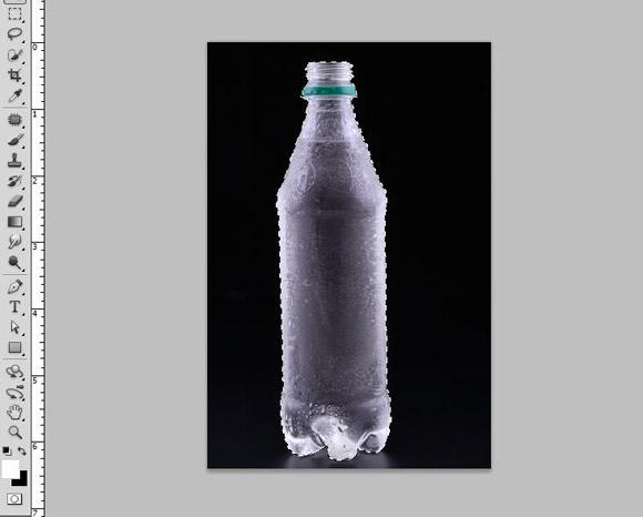 Bottle Ad Photoshop Tutorial - Step 3