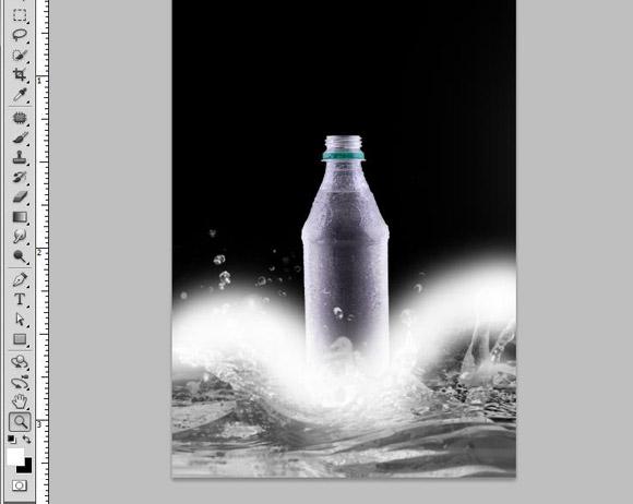 Bottle Ad Photoshop Tutorial - Step 8